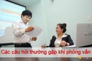 Danh sách câu hỏi phỏng vấn mà nhà tuyển dụng hay hỏi