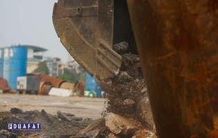 Tuyển lái máy xúc đào tại các công trình